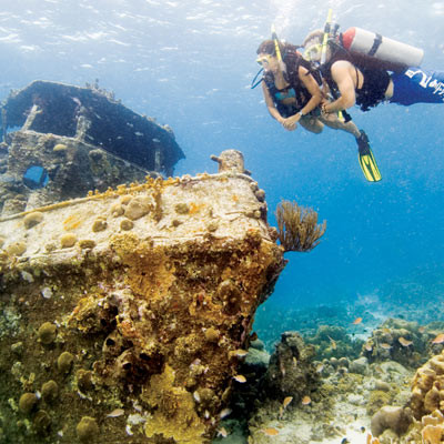 Master Scuba Diver in Bali with Crystal Divers