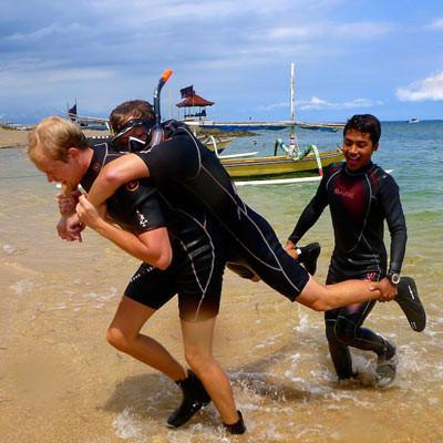 Crystal PADI Rescue diver