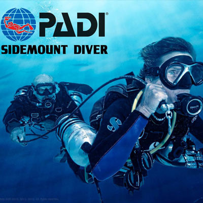 Crystal Dive Sidemount course in Bali