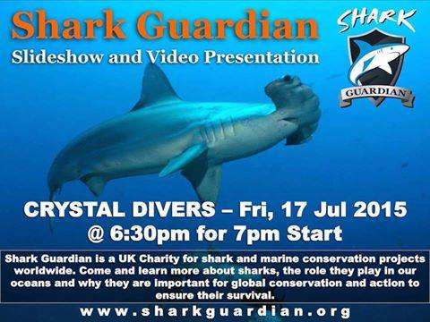 shark Guradian presentation in Bali at Crystal Divers