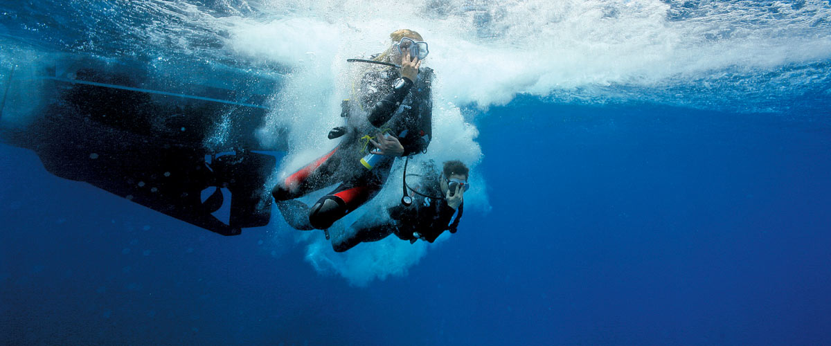 Crystal Divers leading the way PADI